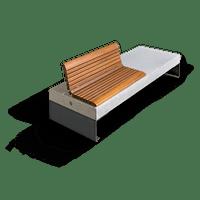Diamante Wood Seats