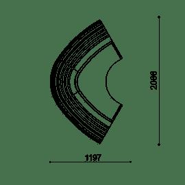 Lorenz LS 120° Curve