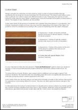 Corten Material Sheet