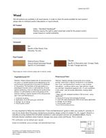 Wood Material Sheet