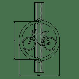 Meter Rack on Pole