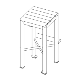 Monona Stool Bar Height