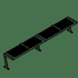 Wingra 4 Flat Holes