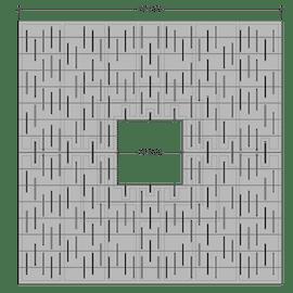 Cascade Square 4'