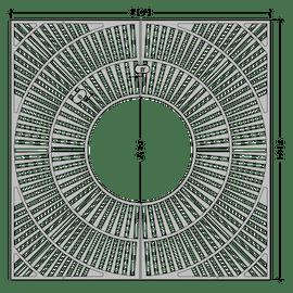 Fan Square 3'