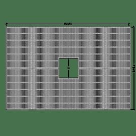 Jamison Rectangle 6'x4'