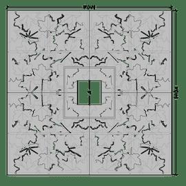 Maple Leaf Square 5'