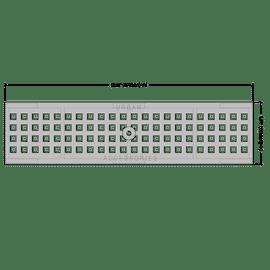 "Standard ADA 4.84""x19.69"""