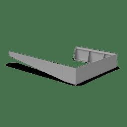 Bottom slope primary