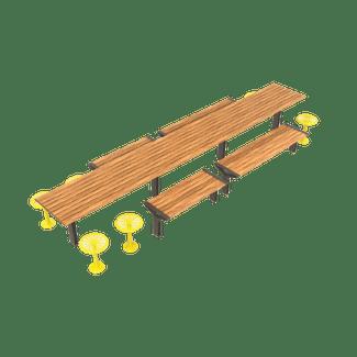 Aria Long Communal Table