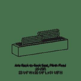 Plinth Fixed 2S-2SR