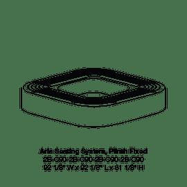 CMA 2B-C90 Square Plinth Fixed