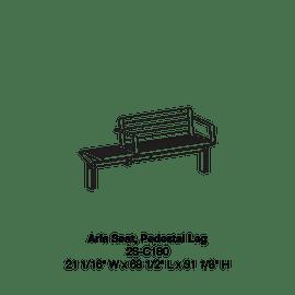 CMA1 2S-C180 Pedestal Leg