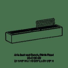 CMA1 2S-C180-2B Plinth Fixed