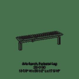 CMA1 2B-C180 Pedestal Leg