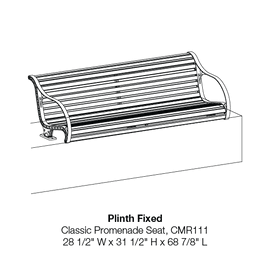 CMR111 Plinth Fixed
