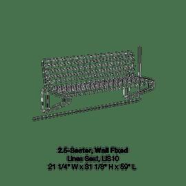 LIS10 2.5 Seater