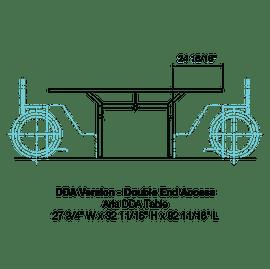 CMA6 DDA-Double End Access