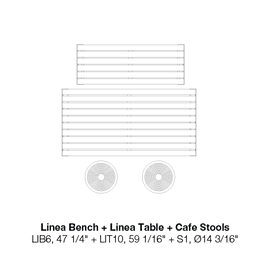 """LIB6 47 1/4""""-LIT10 59 1/16""""-S1"""