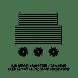 """LIB6 59 1/16""""-LIT10 70 7/8""""-S1"""